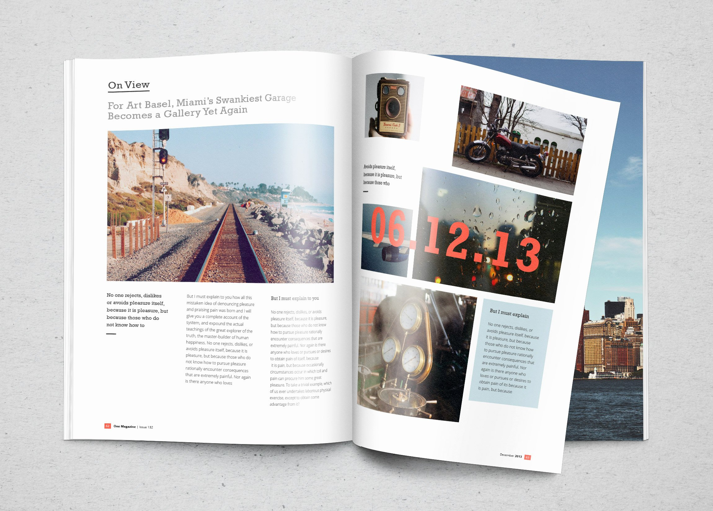 Magazine Cover Template Psd Luxury Realistic Magazine Mockup