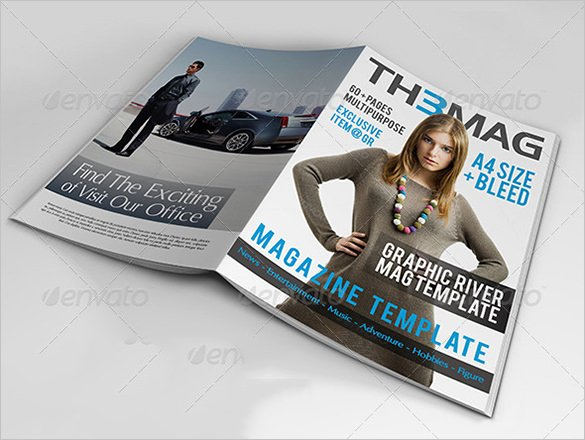 Magazine Cover Template Psd New Magazine Cover Psd Templates 54 Free Psd Ai Vector
