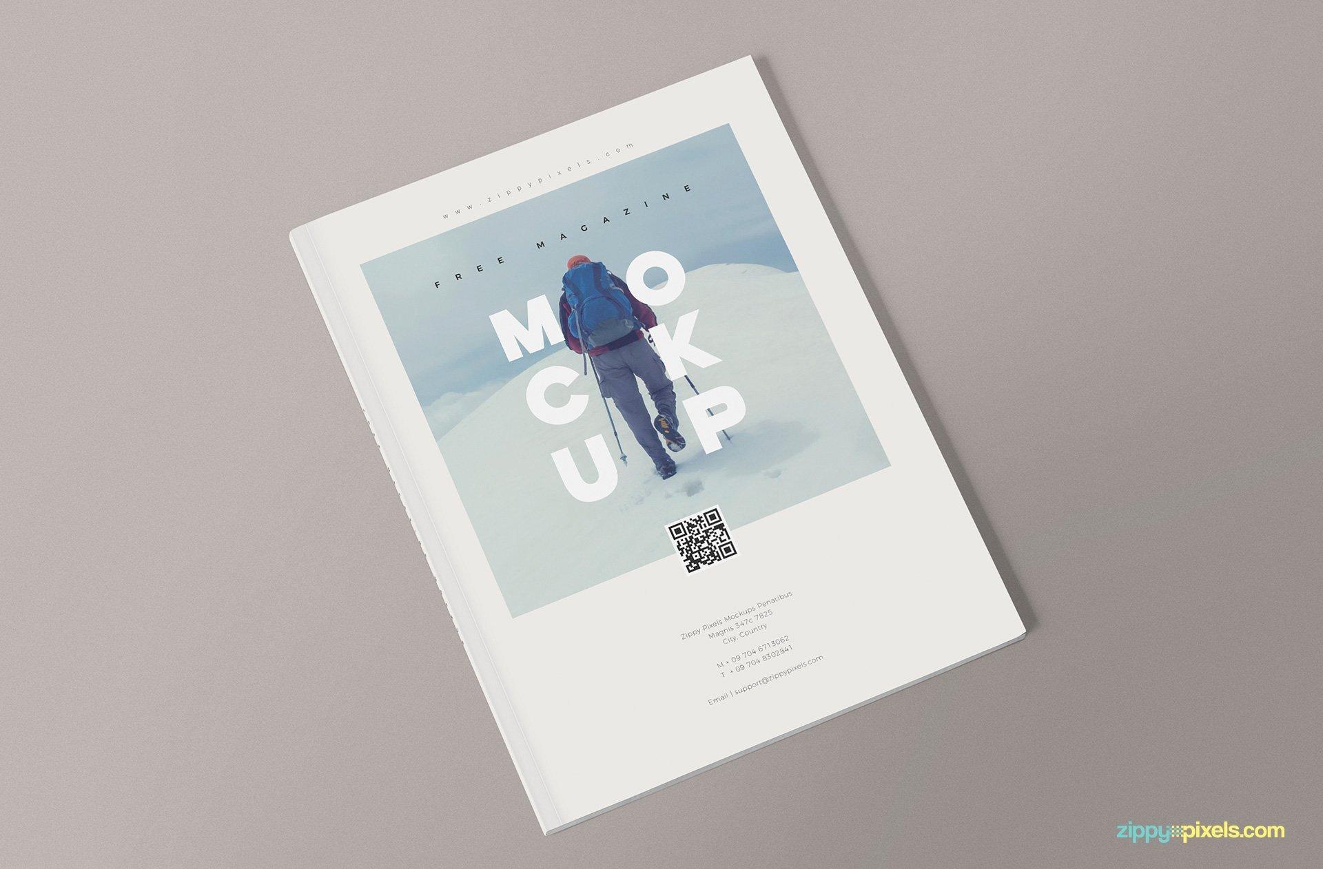 Magazine Cover Template Psd Unique 3 Free Magazine Mockup Templates