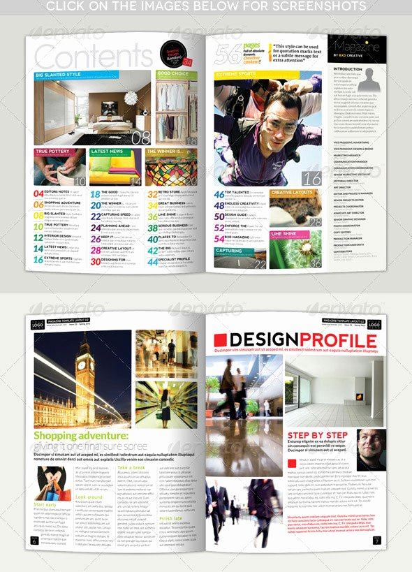 Magazine Layout Template Indesign Best Of 34 High Quality Psd & Indesign Magazine Templates