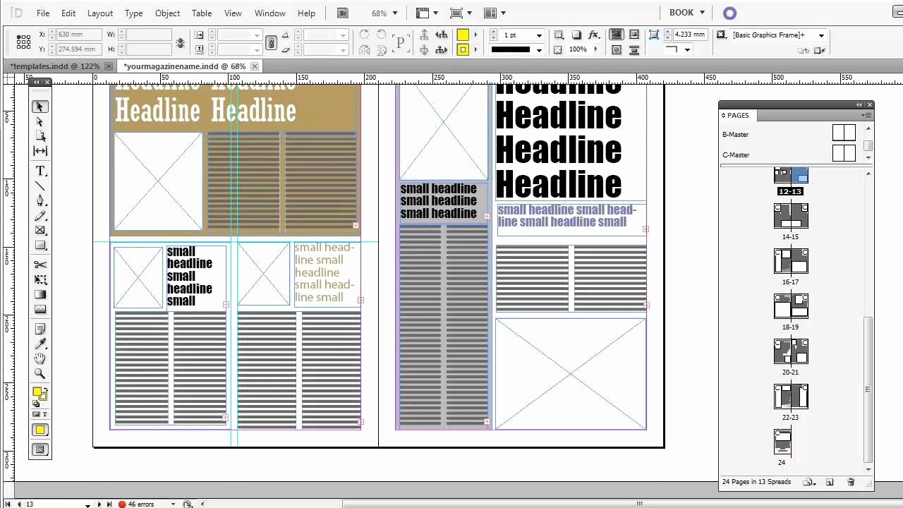 Magazine Layout Template Indesign Best Of Free Magazine Indesign Templates
