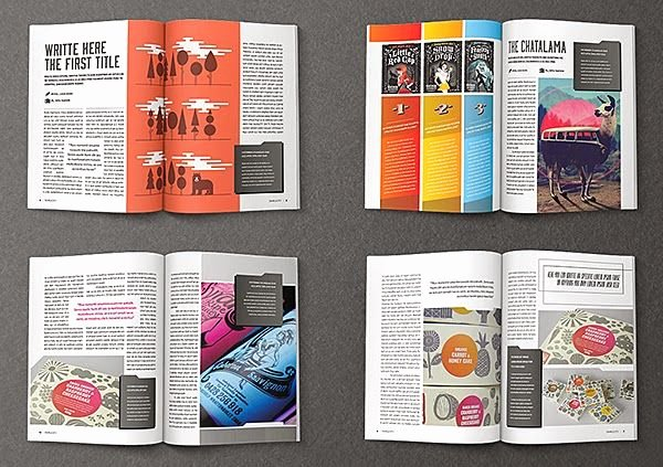 Magazine Layout Template Indesign Best Of Spreading the Maglove Free Indesign Magazine Templates