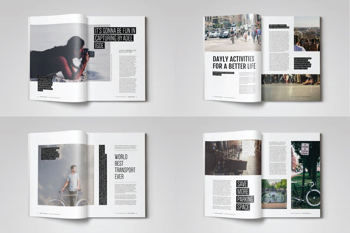 Magazine Layout Template Indesign Elegant 20 Premium Magazine Templates for Professionals