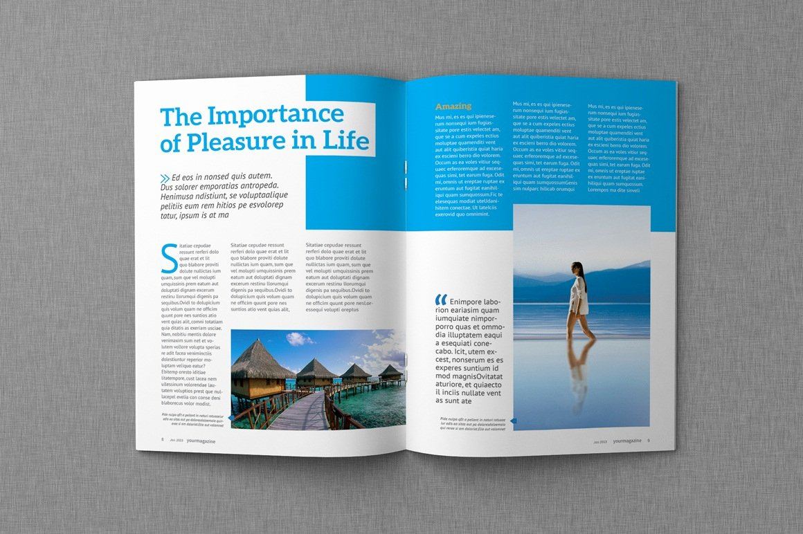 Magazine Layout Template Indesign Elegant Dealjumbo — Discounted Design Bundles with Extended
