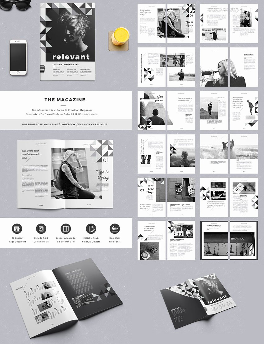 Magazine Layout Template Indesign Inspirational 20 Magazine Templates with Creative Print Layout Designs