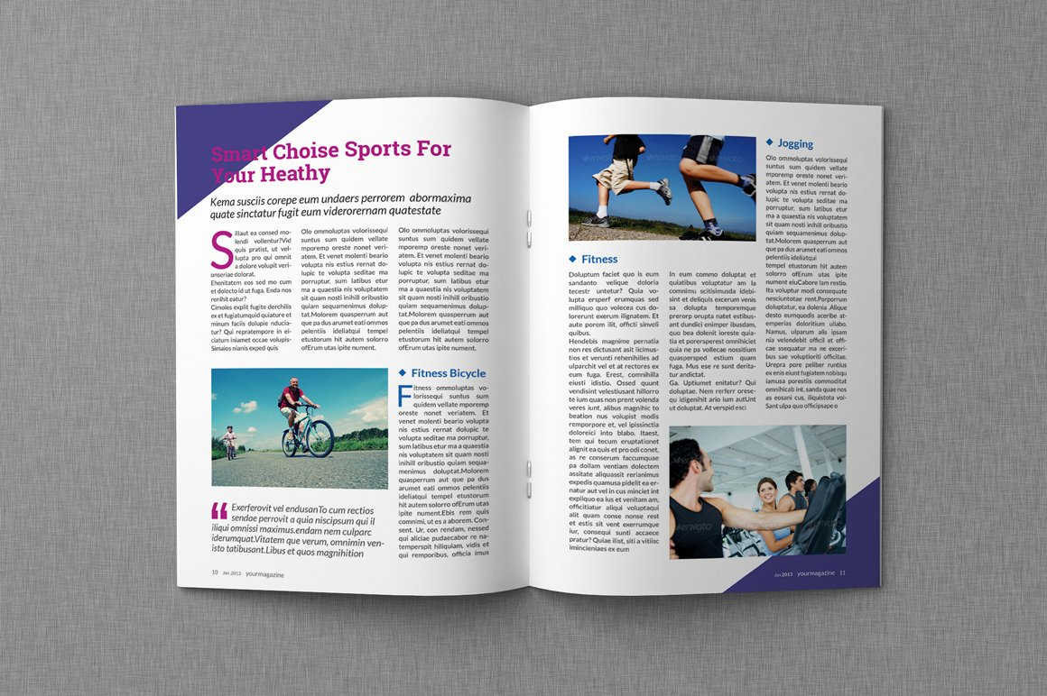 Magazine Layout Template Indesign Inspirational Dealjumbo — Discounted Design Bundles with Extended
