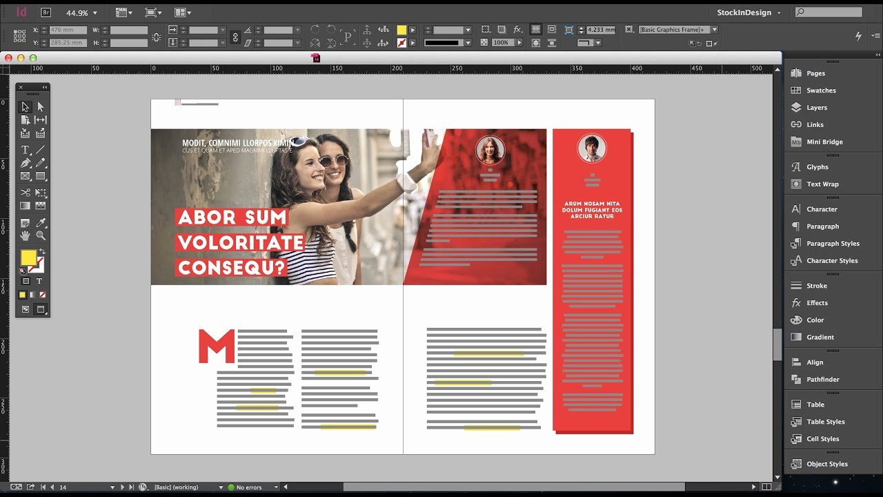 Magazine Layout Template Indesign Lovely Free Indesign Fashion Magazine Template