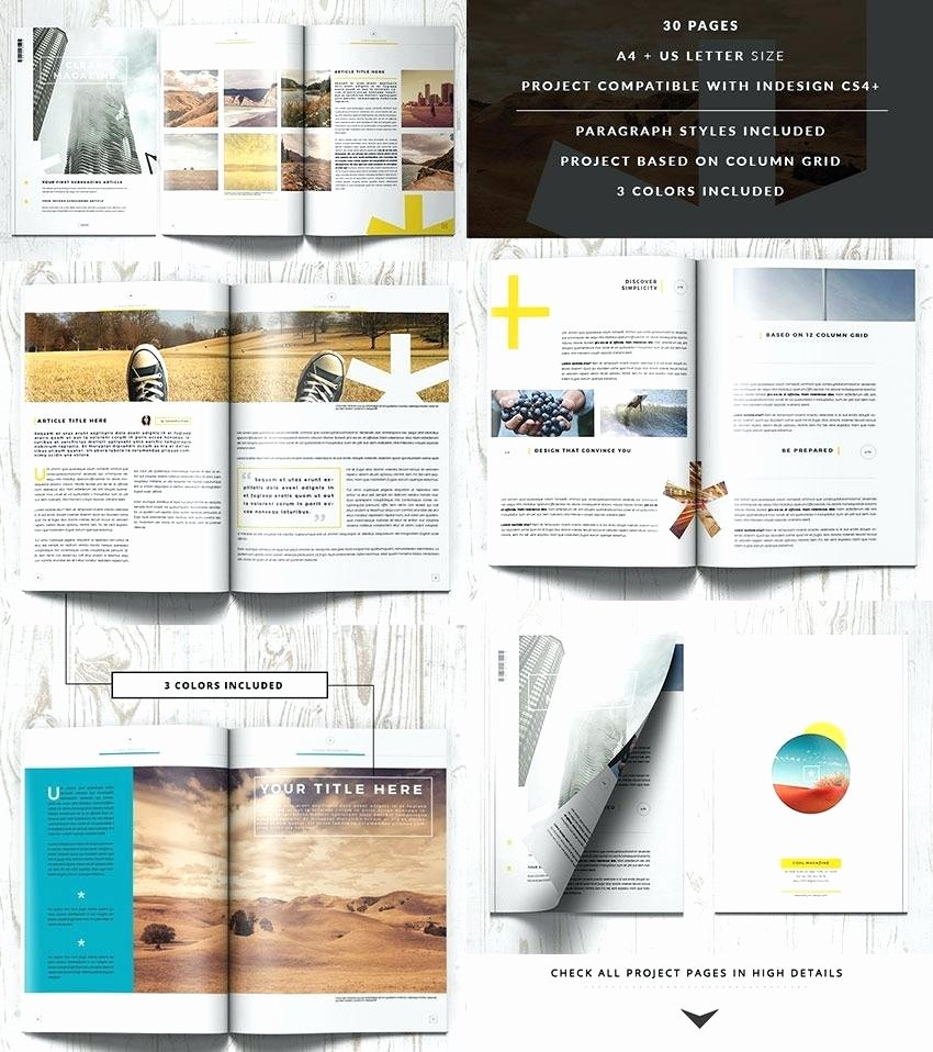 Magazine Layout Template Indesign Lovely Magazine Layout Indesign Template