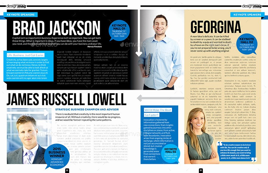 Magazine Layout Template Indesign New Magazine Layout Templates for Indesign Templates