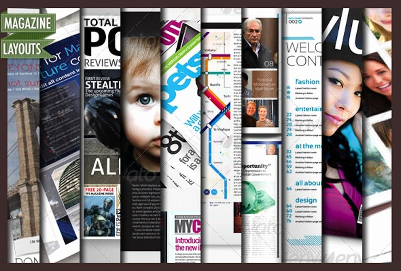Magazine Layout Template Indesign Unique 10 Full Magazine Layout Templates for Indesign and