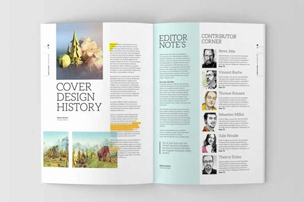 Magazine Layout Template Indesign Unique Indesign Magazine Template On Editorial Design Served