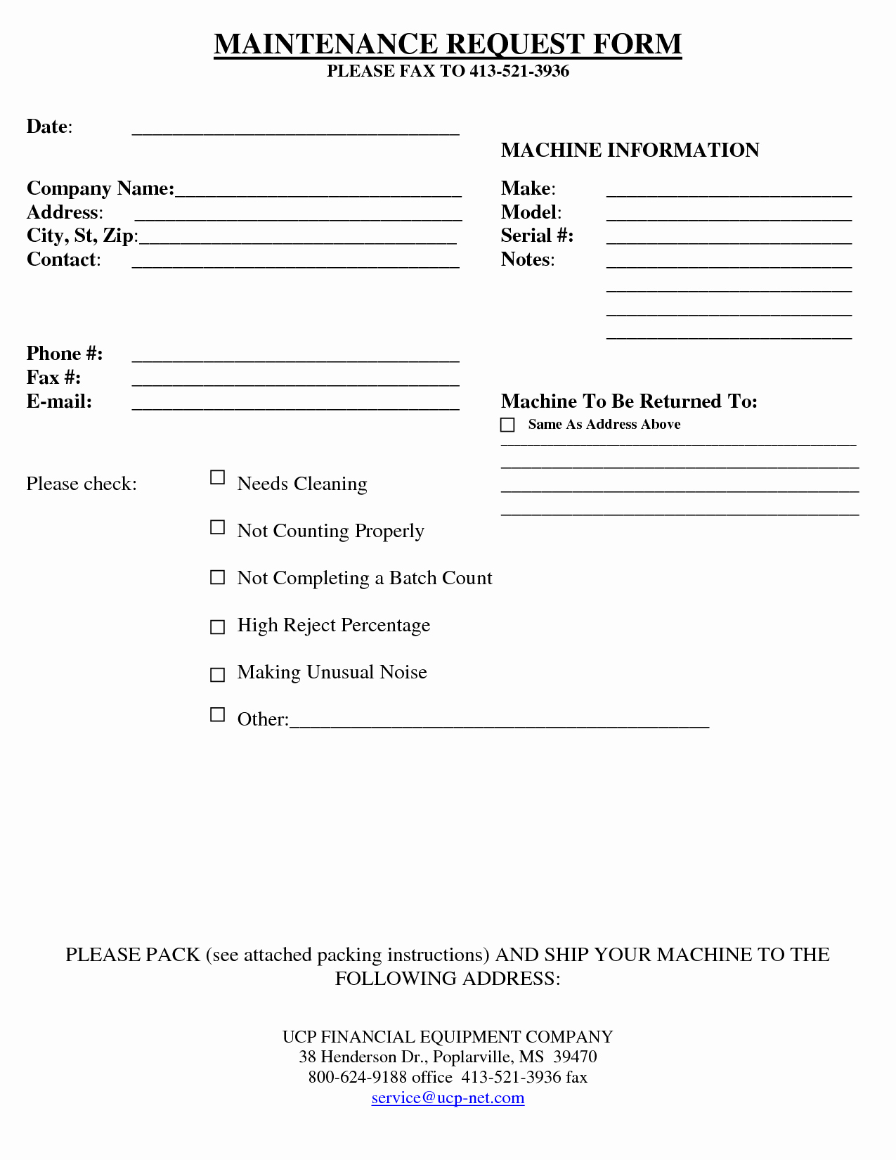 Maintenance Request form Template Best Of 29 Of Maintenance Request Log Template