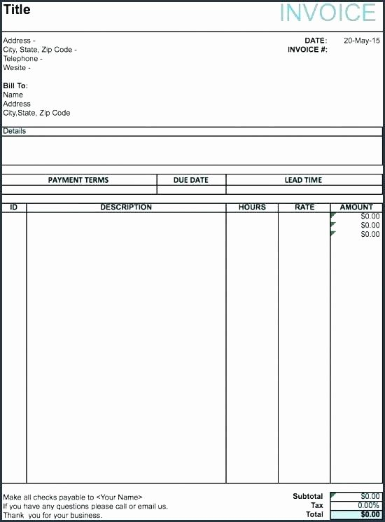 Makeup Artist Invoice Template Best Of Mission Invoice Template Word From Sample Artist Stock