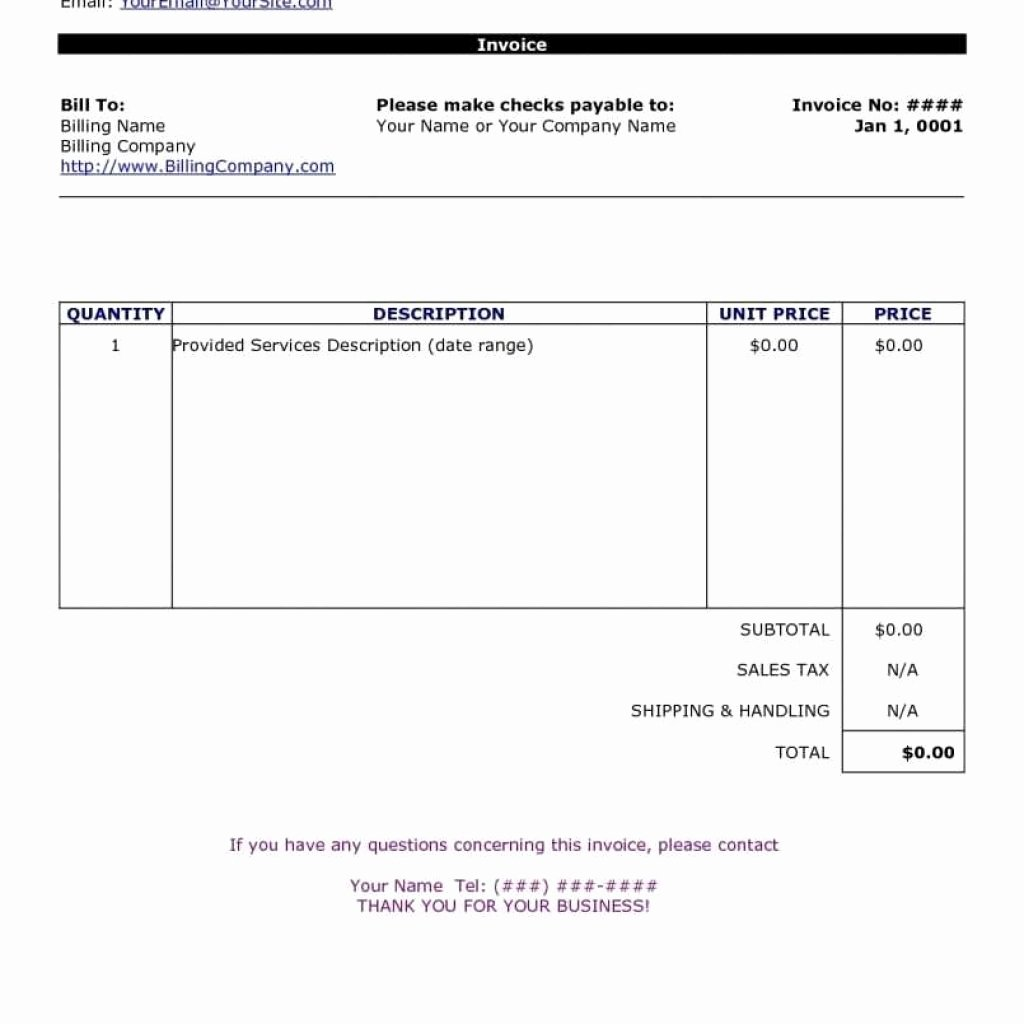 Makeup Artist Invoice Template Fresh Template Simple Invoice Template Excel Free 2016 Bmhflr