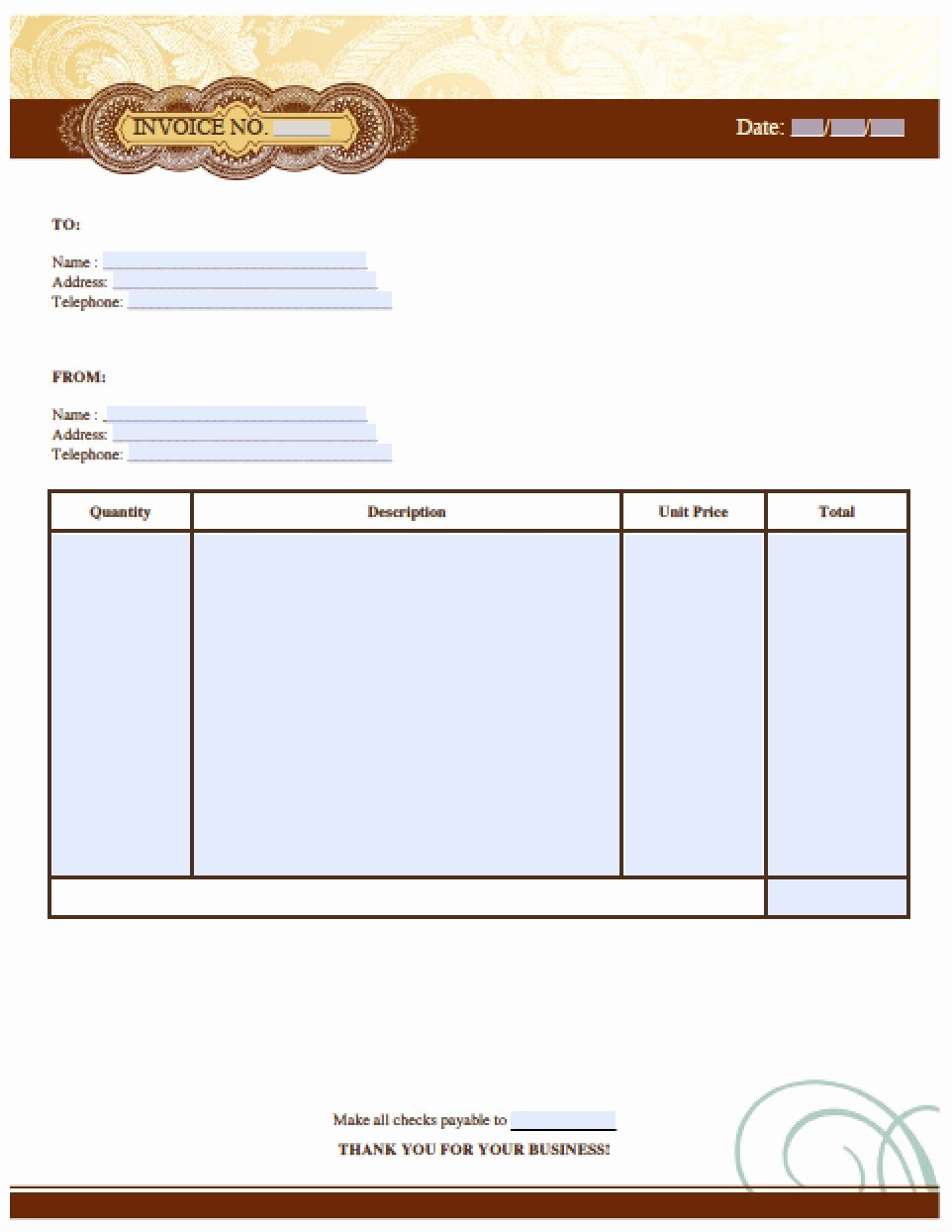 Makeup Artist Invoice Template Lovely Free Auto Body Repair Invoice Template Excel