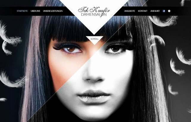 Makeup Artist Website Template Beautiful 60 Inspiring Examples Responsive Web Designs