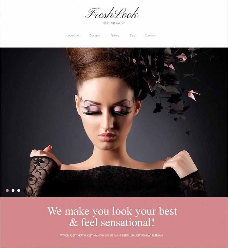 Makeup Artist Website Template Best Of 10 Best Makeup Artists Website Templates