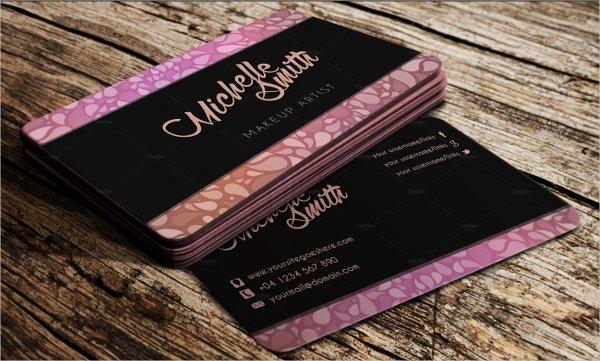 Makeup Artist Website Template Fresh 33 Artist Business Cards Free Psd Ai Vector Eps