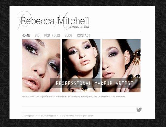 Makeup Artist Website Template Inspirational Amazing Makeup Artist Websites