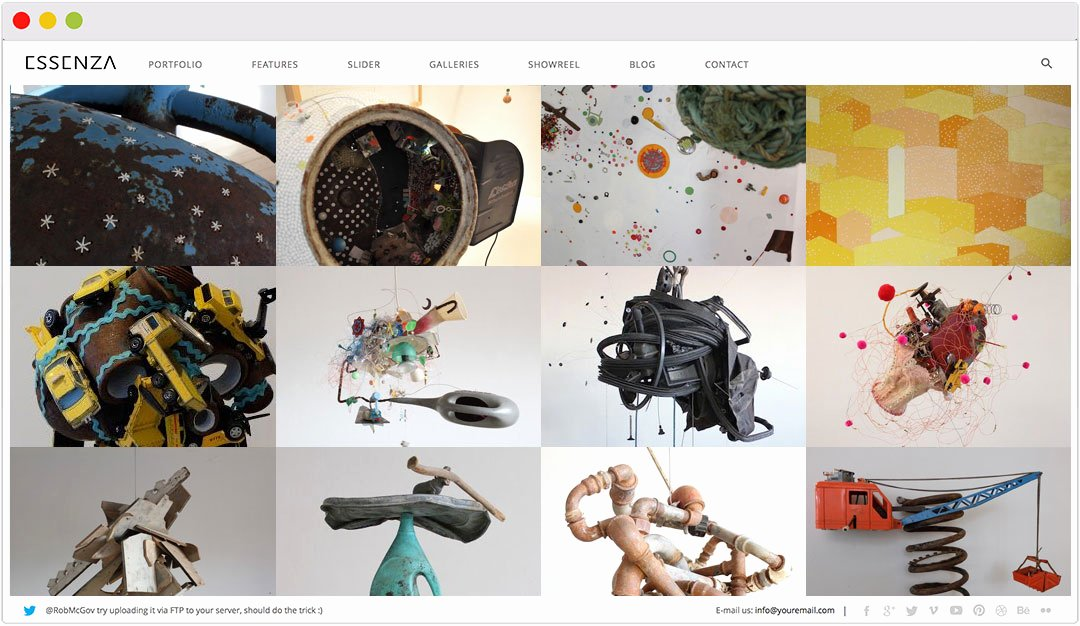 Makeup Artist Website Template Lovely 25 Amazing Wordpress themes for Artists Textileartist