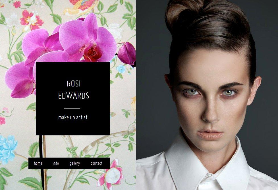 Makeup Artist Website Template Lovely Model Website 3