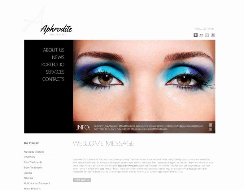 Makeup Artist Website Template Luxury 5 Best Makeup Artists Templates & themes