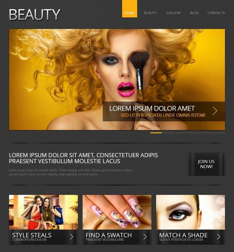 Makeup Artist Website Template New 10 Best Makeup Artists Website Templates