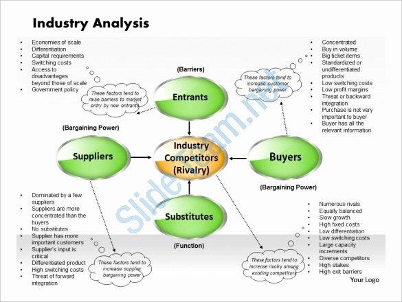 Market Analysis Report Template Luxury 12 Industry Analysis Templates Doc Pdf