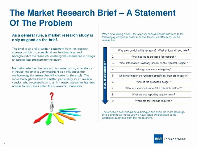 Market Research Proposal Template Fresh Market Research Brief Template – Arabnormafo
