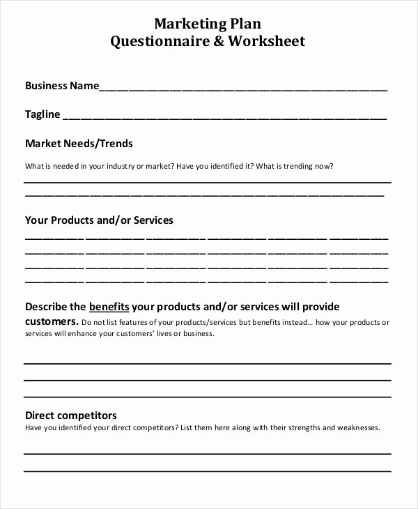 Market Research Survey Template Lovely Market Research Worksheet Breadandhearth