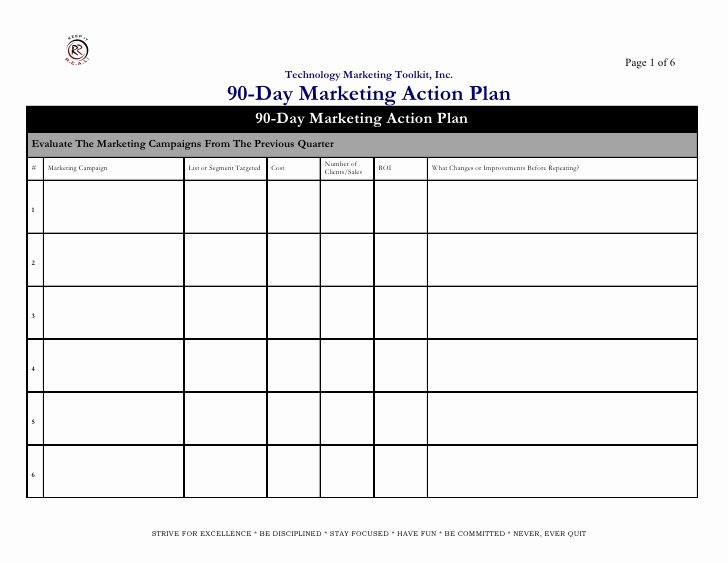 Marketing Action Plan Template Excel Awesome Marketing Action Plan