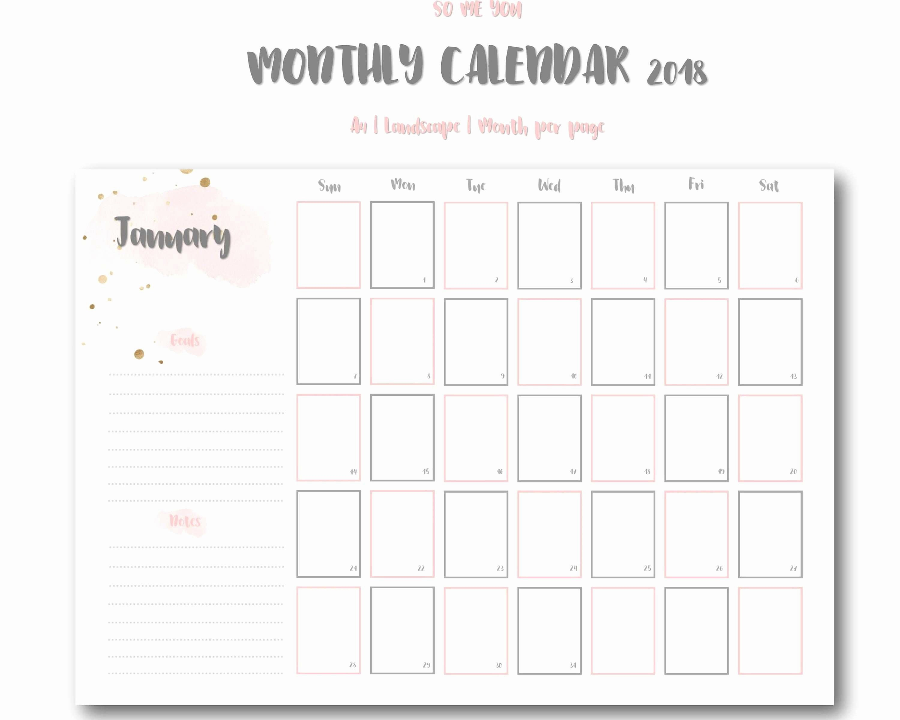 Marketing Calendar Template 2017 Fresh Luxury Monthly Marketing Calendar Template 2017