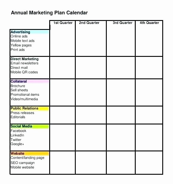 Marketing Calendar Template 2017 Inspirational Simple Marketing Calendar Template 2017