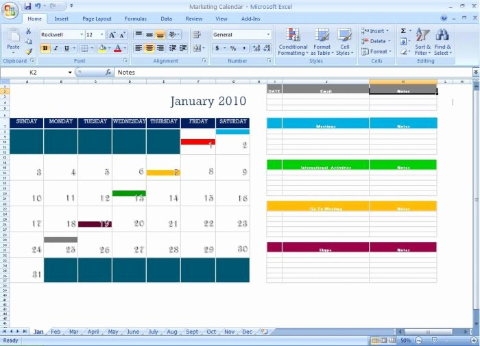Marketing Calendar Template Excel Best Of Marketing Calendar Schedule Template tool