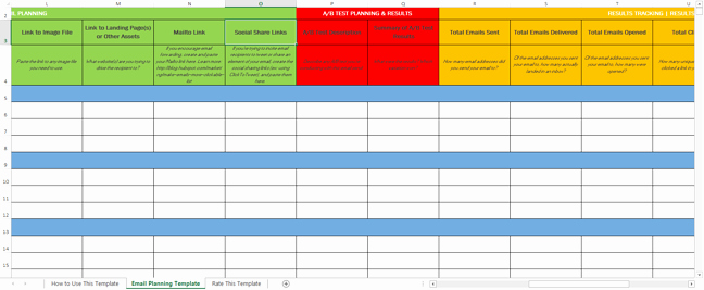 Marketing Campaign Plan Template Awesome How to Easily Plan & Track Your Email Marketing Campaigns
