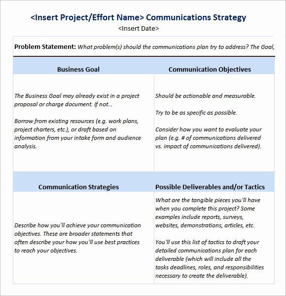 Marketing Campaign Plan Template Beautiful 9 Sample Marketing Campaign Templates