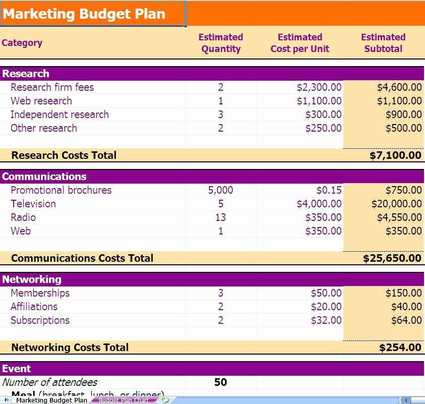 Marketing Campaign Plan Template Best Of Marketing Campaign Plan Template Bud Advertising Excel