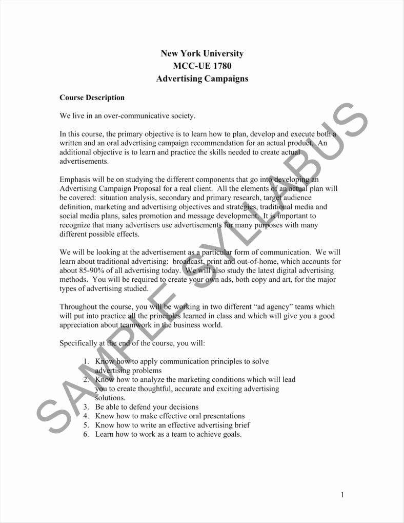 Marketing Campaign Proposal Template Beautiful 13 Advertising Proposal Templates Word Apple Pages