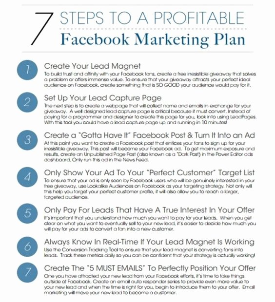 Marketing Campaign Proposal Template Beautiful 7 Steps to A Profitable Marketing Campaign