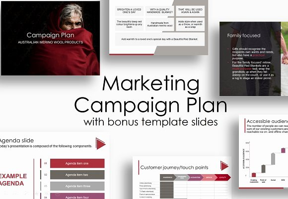 Marketing Campaign Proposal Template Unique Marketing Campaign Plan Presentation Templates