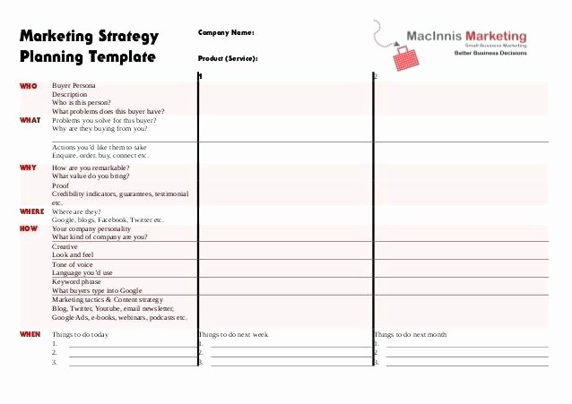Marketing Campaign Strategy Template New Campaign Planning Template – Tailoredswift