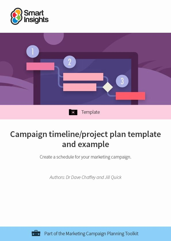 Marketing Campaign Timeline Template New Campaign Timeline Project Plan Template and Example