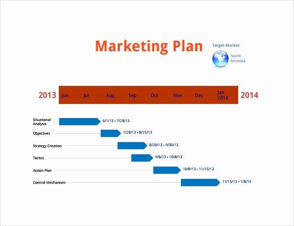Marketing Campaign Timeline Template Unique 10 Sample Marketing Timeline Templates to Download