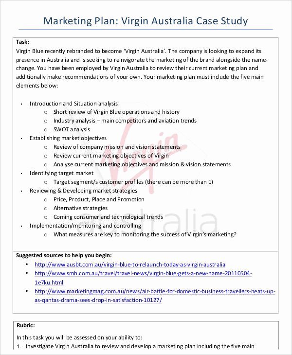 Marketing Case Study Template Awesome 37 Case Study Templates Word Pdf Pages