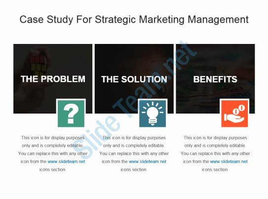 Marketing Case Study Template Best Of Case Study for Strategic Marketing Management Ppt Template