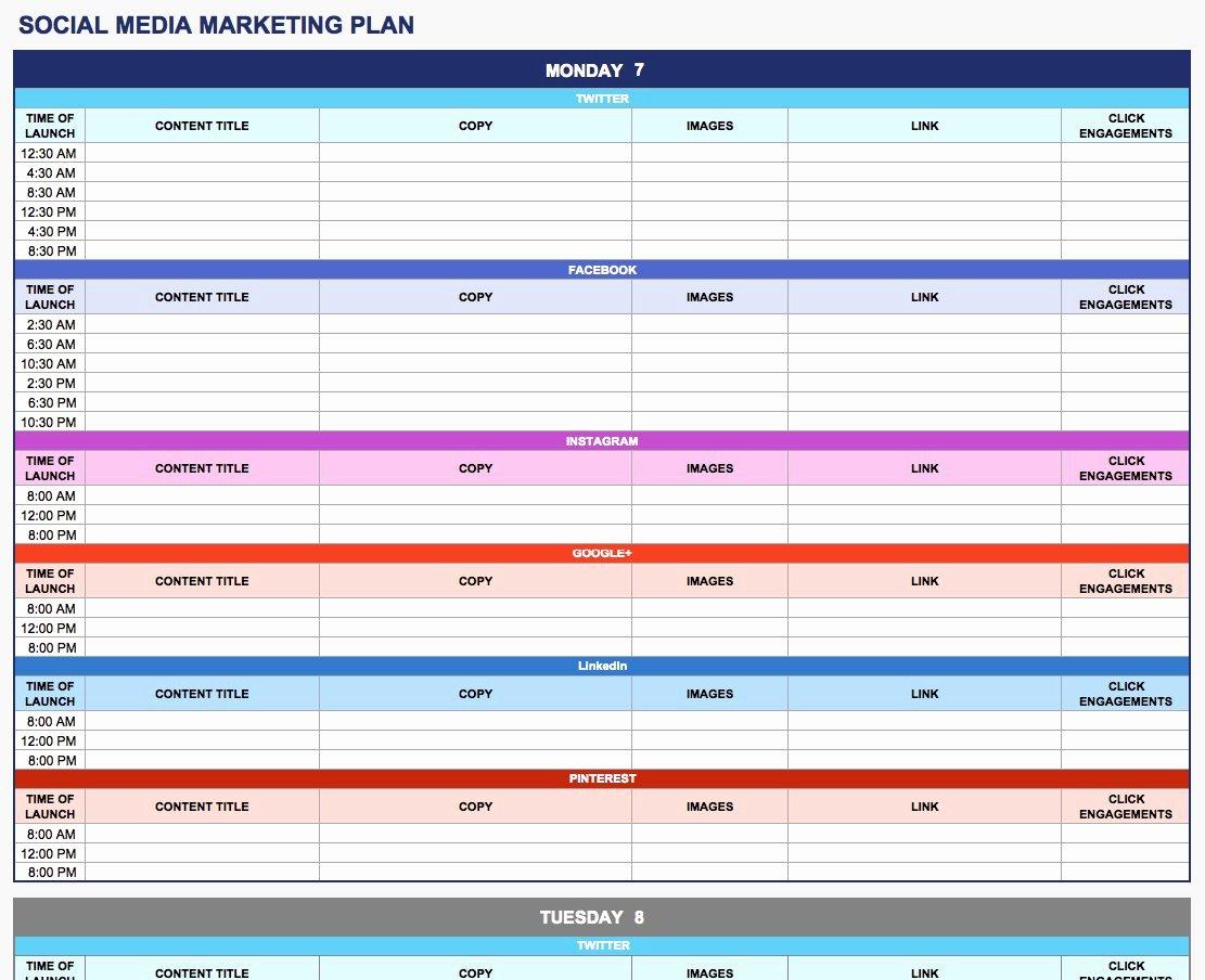 Marketing Communications Plan Template Beautiful Free Munication Strategy Templates and Samples