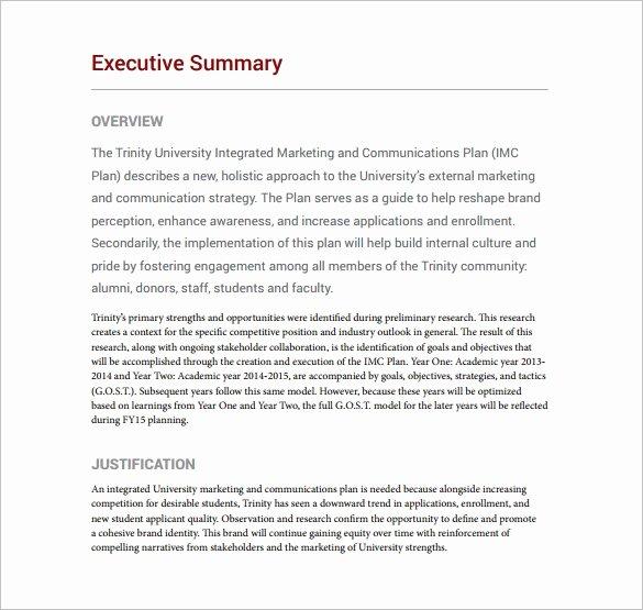 Marketing Communications Plan Template Best Of 18 Munication Plan Templates Pdf Doc