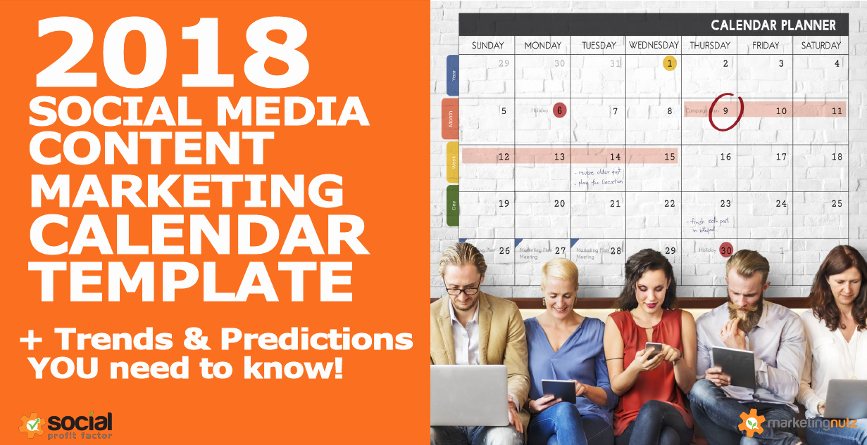 Marketing Content Calendar Template Beautiful 2018 Content Marketing Calendar Template Trends and