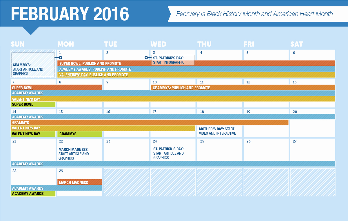 Marketing Content Calendar Template Elegant 2016 Content Calendar Plus Seasonal Content Ideas