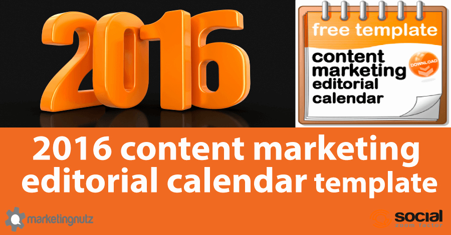 Marketing Content Calendar Template New 10 Free Content Strategy & Editorial Calendar Templates